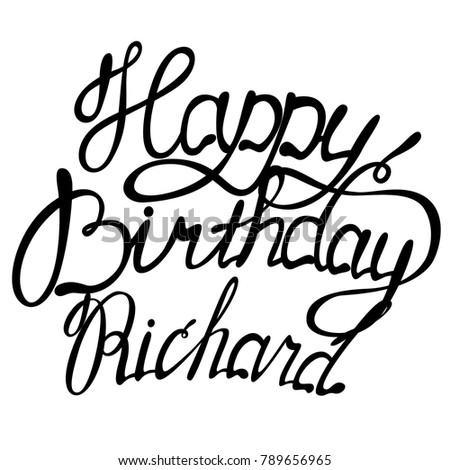 happy birthday richard name