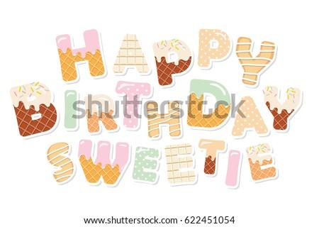 happy birthday sweetie sweet