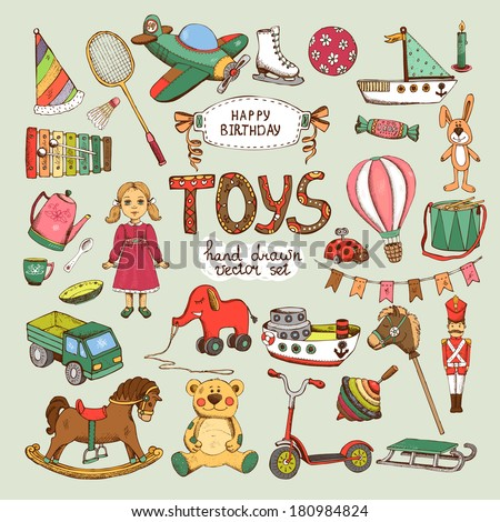happy birthday toys set pinwheel balloon elephant horse