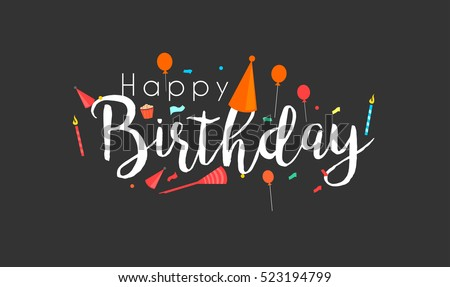 Birthday Card Design Download Free Vector Art Stock Graphics Images