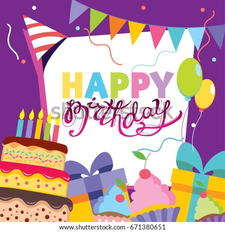 vector birthday template download free vector art stock graphics