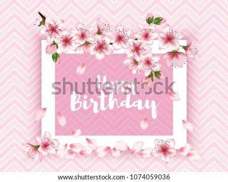 Happy Birthday Vector Simple Card Design Download Free Vector Art