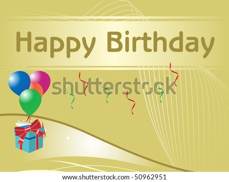 happy birthday wallpaper with quotes. happy birthday wallpapers. stock vector : happy birthday