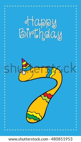 happy birthday 7 year  fun cute