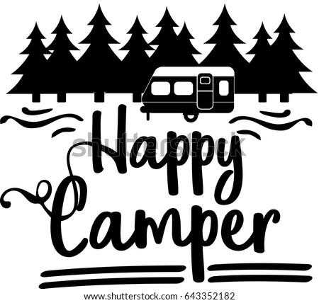 Happy Camper Vector Download Happycamper