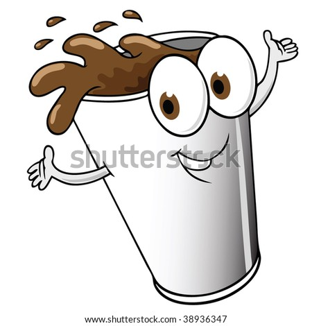 Animated Cup of Coffee http://www.shutterstock.com/pic-38936347/stock-vector-happy-cartoon-cup-of-coffee.html