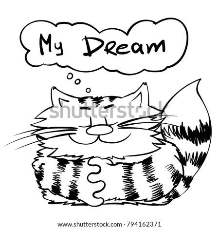 happy cat dreamer smiley kitty