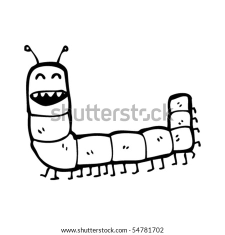 cartoon caterpillar clipart. happy caterpillar cartoon
