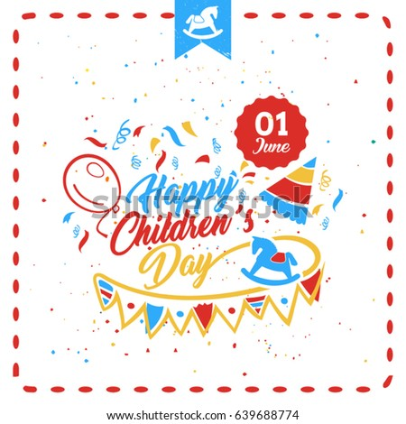 happy childrens day greeting