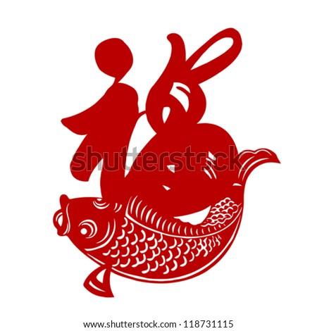 Chinese New Year Fish Symbol Happy Chinese New Year 2013