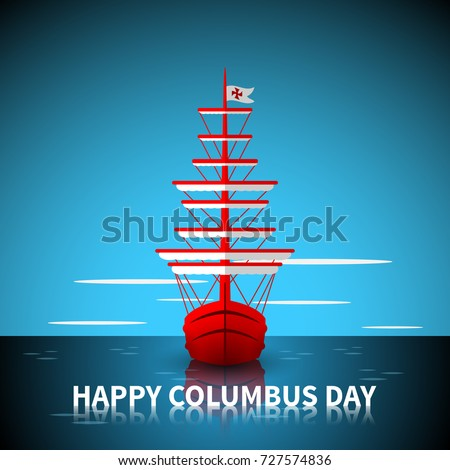 happy columbus day old tall
