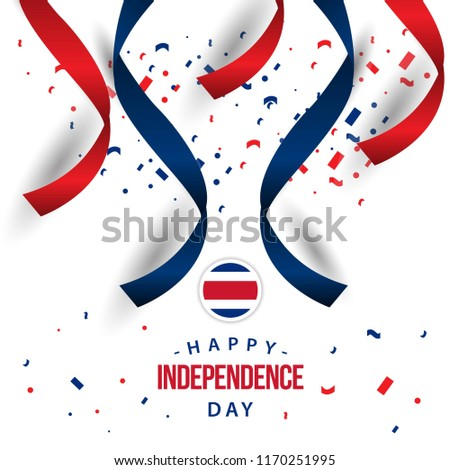 happy costa rica independence