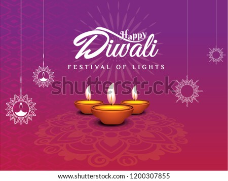 Happy Diwali Greeting Wallpaper Conveying Wonderful Quotes