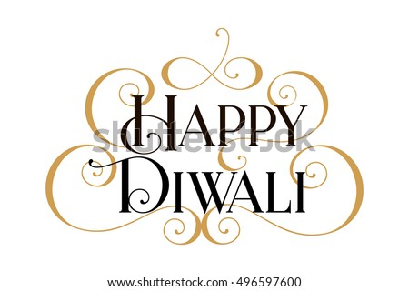 happy diwali handwritten