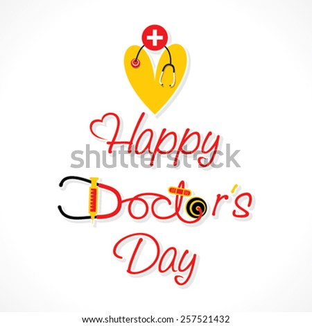 happy doctor's day greeting