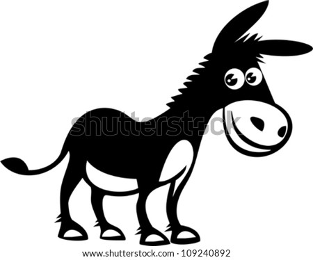 cartoon donkey download free vector art stock graphics images