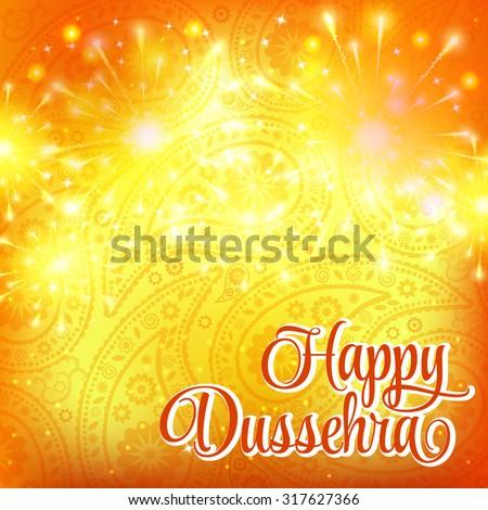 happy dussehra indian festival