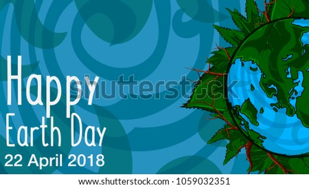happy earth day 22 april 2018