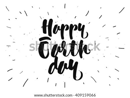 Line Art Earth : Happy earth day illustration download free vector art stock