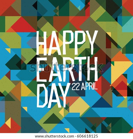 happy earth day poster  22