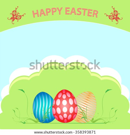 happy easter a basket full of