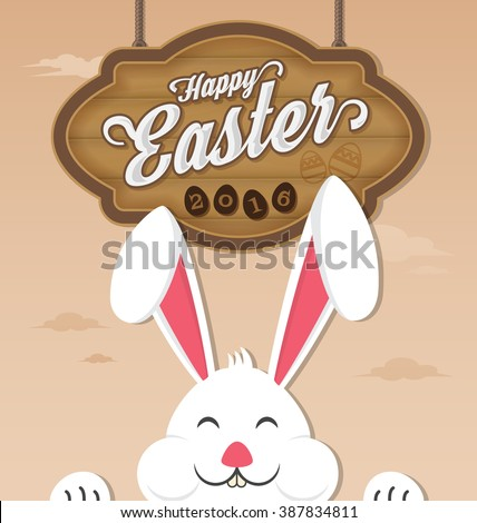 happy easter 2016 and smiling