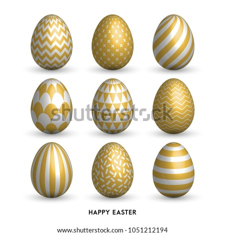 happy easter background with 9