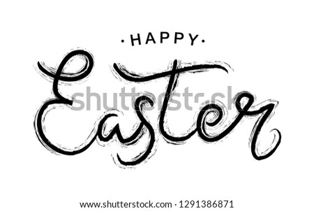 Happy Family Celebrate Easter Day Vector Illustration Download