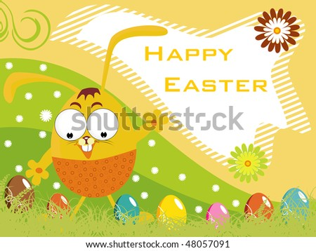 happy easter day pics. stock vector : happy easter
