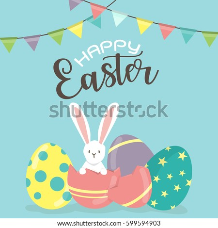 happy easter day  holiday