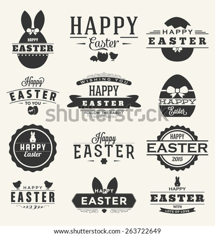 happy easter design collection