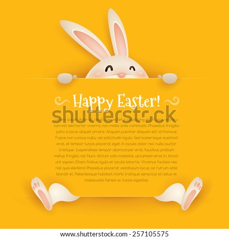 happy easter  easter greeting