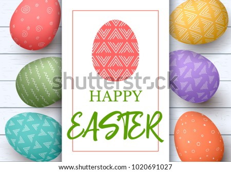 happy easter. festive easter...