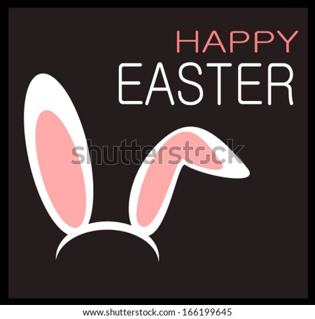 happy easter graphic design