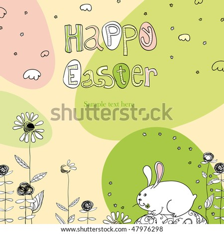 happy easter images greetings. stock vector : Happy Easter