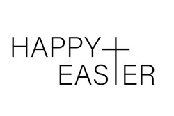 Happy Easter isolated on white background. Vector illustration. Eps 10.