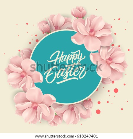 stock-vector-happy-easter-lettering-in-circle-flowers
