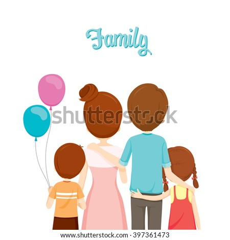 Happy Family Hugging Together, Embracing, Parent, Offspring, Love, Relationship
