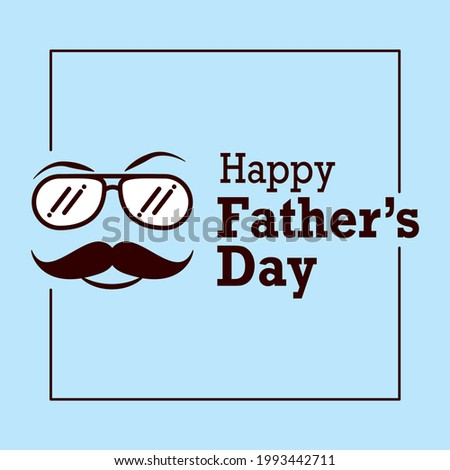 Happy Father's Day - Greetings Stock fotó ©