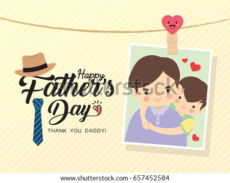 happy father's day template