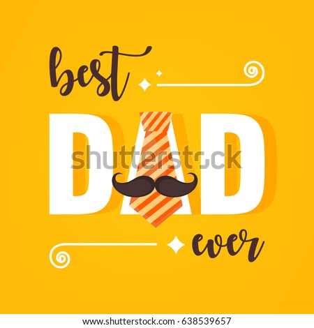 happy father's day vector