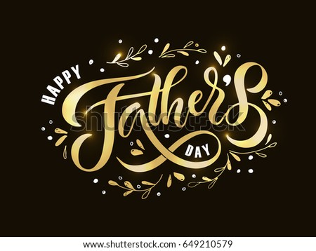 Happy Fathers Day Background With Texture Download Free Vector Art