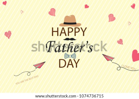 love you father card template download free vector art stock