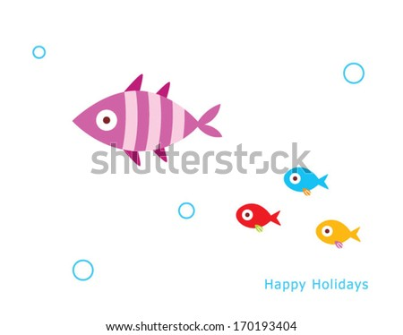 happy fish holidays
