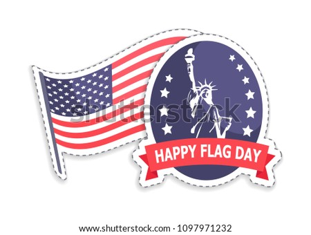 happy flag day  greeting