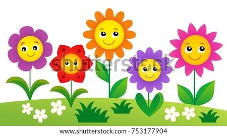 happy flowers topic image 4