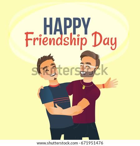 happy friendship day greeting