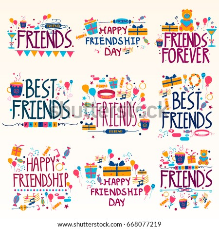happy friendship day holiday