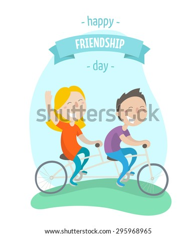 happy friendship day   two best