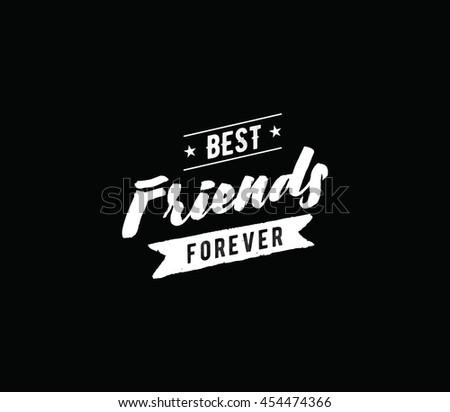 Friendship Shirts Design | Happy Friendship Day Vector Typographic Design Inspirational Quote